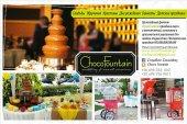 Заказ шоколадного фонтана на торжества в Салониках