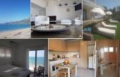 Сдаётся в аренду двухэтажный коттедж на берегу моря в Лутраки