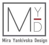 """Студия дизайн интерьера """"Mira Yankivska Design"""" в Греции"""