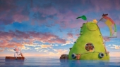 """Бесплатный кинопоказ для детей на греческом в Афинах: """"Невероятная история о гигантской груше"""" (2017)"""