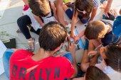 Учимся командным играм в Центре культуры Фонда Ставроса Ниархоса в Афинах