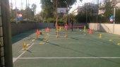 Mini Tennis для детей в парке Центра культуры Фонда Ставроса Ниархоса в Афинах